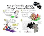 Uses for Obama's American Jobs Act