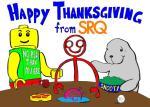 Cartoon about Thanksgiving in Sarasota